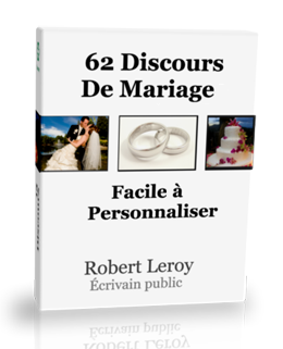 Avis Pack 62 Modeles De Discours De Mariage Robert Leroy Ebook Pdf